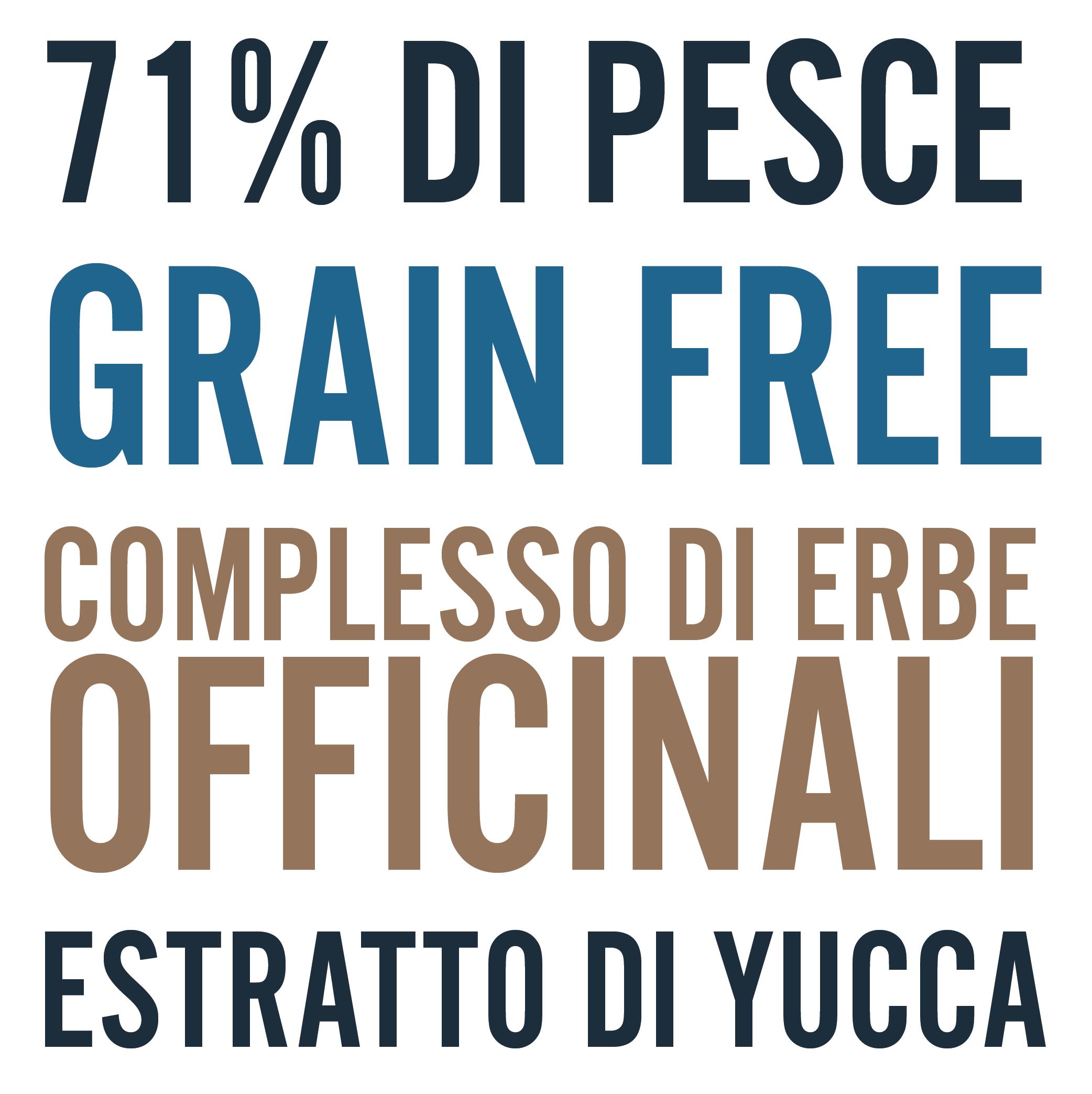 Crocchette per cani grain free senza cereali