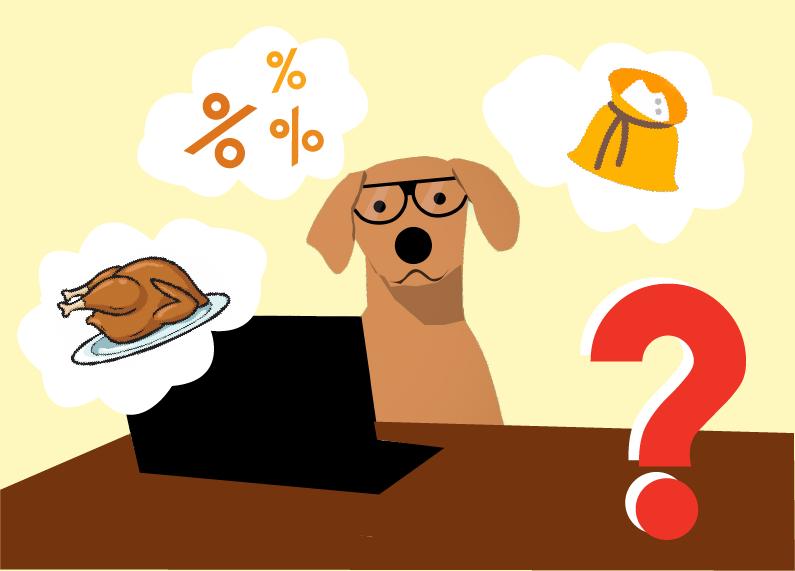 Come leggere le etichette degli alimenti per cani e gatti?